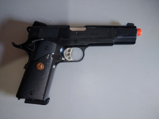 Pistola Airsoft Green Gás Gbb 1911 Full Metal
