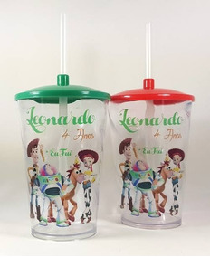 40 Copos Twister Toy Story Personalizados 500ml