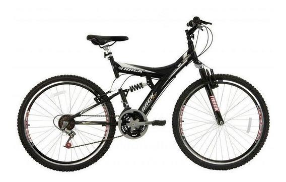 Bicicleta Track & Bikes Aro 26 18 Marchas Dupla Suspensão