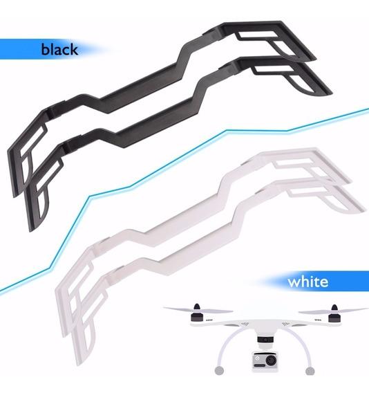 Trem De Pouso Proteção Drone Phantom 4 Dji Preto Ou Branco1p