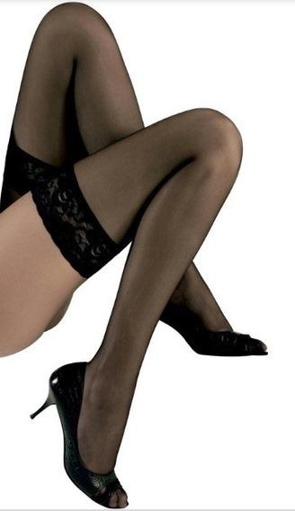 Lenceria Sexy Medias Liguero Erotico Dama Panty Negro