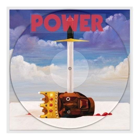Kanye West Power [picture Disc] [single] 12 Vinilo Us Imp