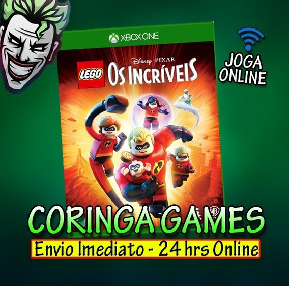 Os Incriveis Xbox One Mídia Digital + 1 Jogo Grátis