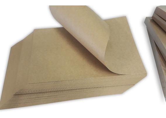 100 Folhas Papel Kraft 180g A4 Marrom Escuro Craft 180gr