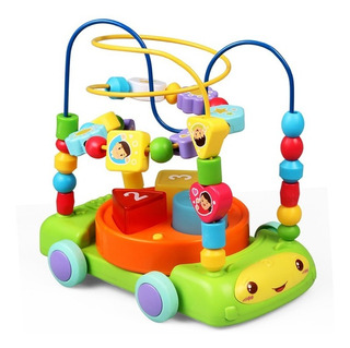 Carro Musical 3 En 1 Laberinto Niños Bebes Baby Shower