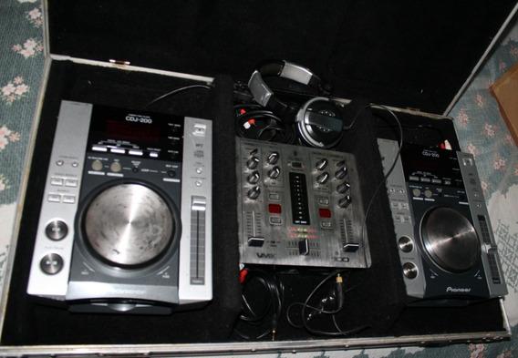 Kit Case Dj Completo - Pioneer - Bh E Região