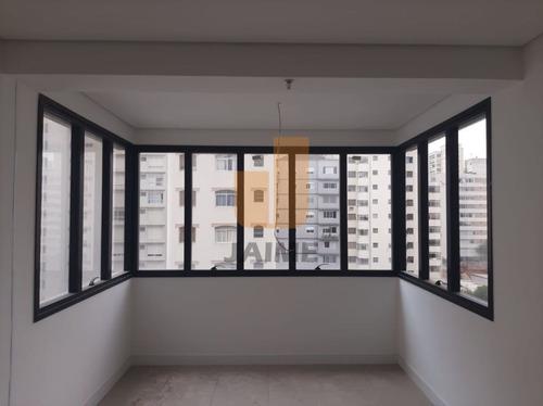 Predio Com Conceito Diferenciado, Integrado À Um Prédio Residencial E Lojas No Térreo. - Ja17822