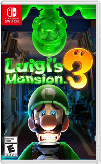 Luigi Mansion 3 Nintendo Switch Fisico Nuevo!!!