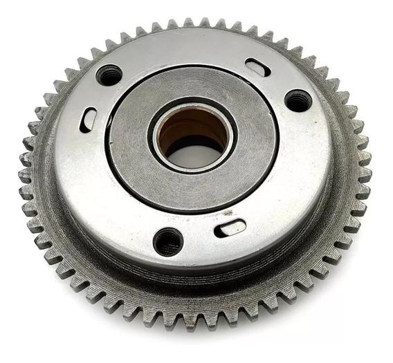 Placa Partida + Engrenagem Kansas 150/speed 150/mirage 150cc