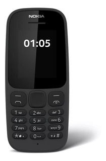 Celular Nokia 105 · Linterna · Radio Fm