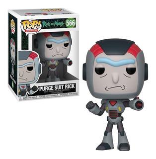 Funko Pop! Rick And Morty - Purge Suit Rick 566 Original
