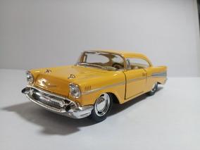 Chevrolet Bel Air 1957 - 1:40 - Carrinho De Metal