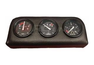Reloj Amperimetro Temperatura Agua Presion Aceite Consola