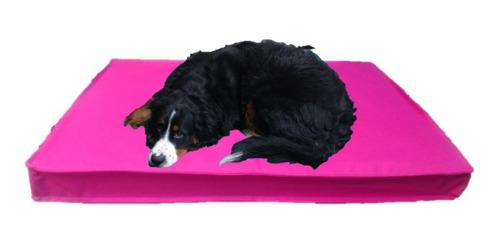 Imagen 1 de 4 de Colchón Cama Perros Placa De Espuma Antidesgarro 90x60