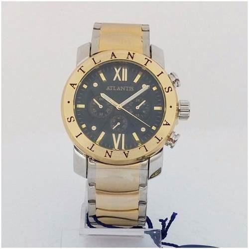 Relógio Masculino Atlantis A3310 Vip Original Estilo Bugary
