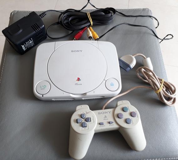 Vídeo Game Playstation 1 ( Psone) + 01 Controle ( Funciona)