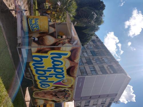 Imagem 1 de 15 de Vendo Trailer Food Truck Baú Reboque (400cm X 250cm X 200cm)