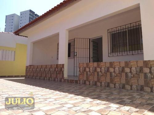 Imagem 1 de 24 de Casa Com 2 Suites E Edicula Com  136 M² Por R$ 380.000 - Vila Anhanguera - Mongaguá/sp - Ca3733