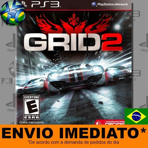 Jogo Grid 2 Ps3 Psn Play 3 Digital Dublado Português