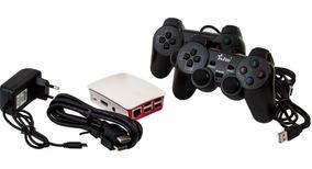 Vídeo Game Retro 11mil Jogos - 64 Gb - 2 Controles Com Fio