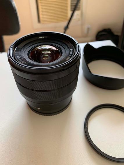 Lente Sony 10-18mm F4 Oss Alpha E- Mount + B+w 62mm Xs-pro