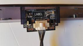 Placa Do Sensor Remoto + Teclado Tv Lg 32lf510b Ebr80772001