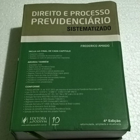 Livro Direito E Processo Previdenciário Sistematizado