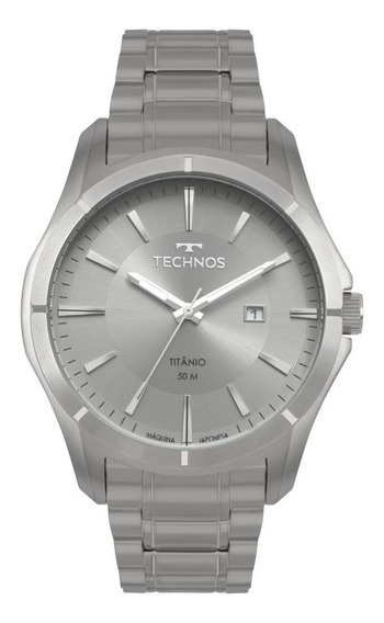 Relógio Masculino Technos Classic Titanio 2115mtw/4c