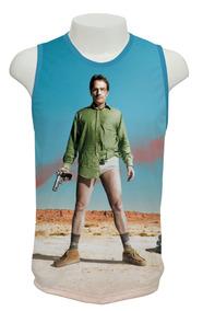 Camiseta Breaking Bad 04 - Regata Frete Grátis