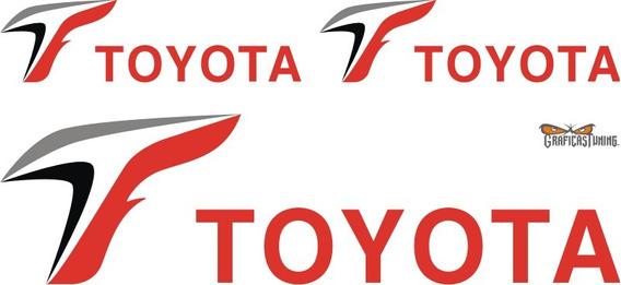 Calcomanías Kit Toyota F1 - Calcos Ploteados Graficastuning