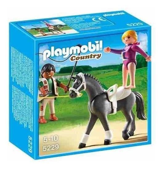 Playmobil Country Exercicios De Salto Equestre 5229/753