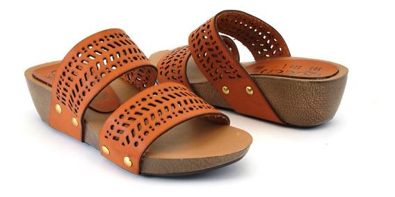 Zapato De Plataforma De Meter Para Dama 2 Tiras Grabadas .