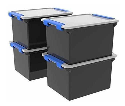 Imagen 1 de 4 de Storex Bolsa De Almacenamiento Con Asas De Bloqueo Paquete D