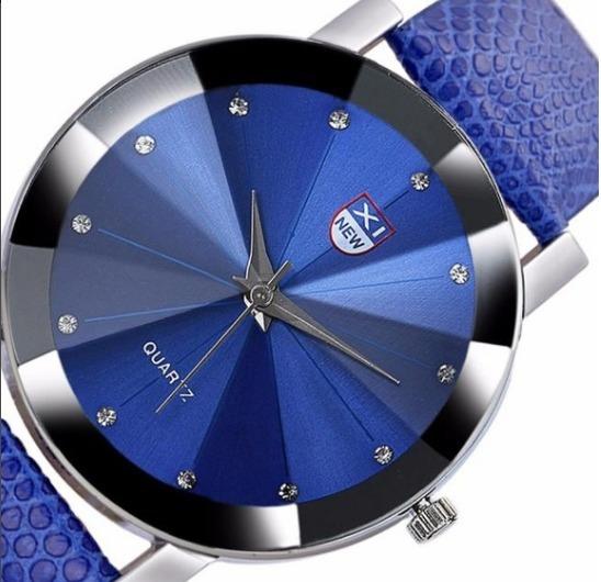 Ulamore Relógio Azul Masculino