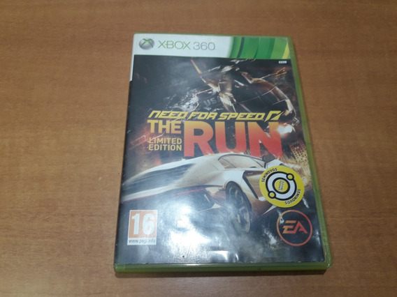 Need For Speed The Run Xbox 360 Pal Jogo Europeu