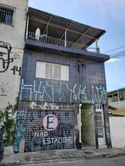Casa Com 4 Casas De Aluguel - Ótimo Para Investimento!