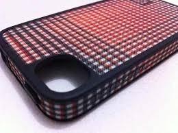 Case iPhone 4/4s Burton Speck Xadrez Laranja