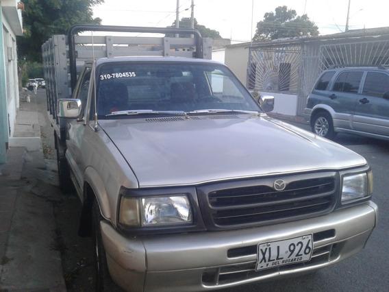 Camioneta Mazda B2200 Estacas Servicio Publico Al Dia