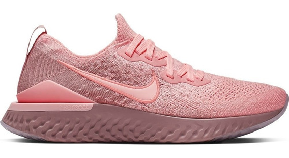 Tenis Nike Epic React Flyknit 2 Mujer Correr Gym Fly