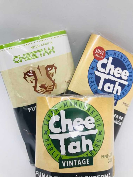 5 Tabaco Cheetah 30gr-para Armar Local Once Candyclub