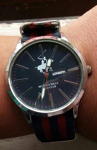 Relógio Polo Beverly Hills Importado