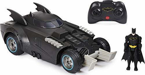 Figura Batman Lanza Y Defiende El Vehiculo De Control Remoto