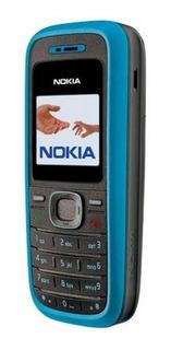 Celular Roça Trabalho Nokia 1208,2g Azul Desbloqueado