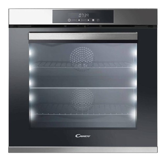 Horno Eléctrico Candy Fcdp818vx 78 Lts Acero Inox Clase A