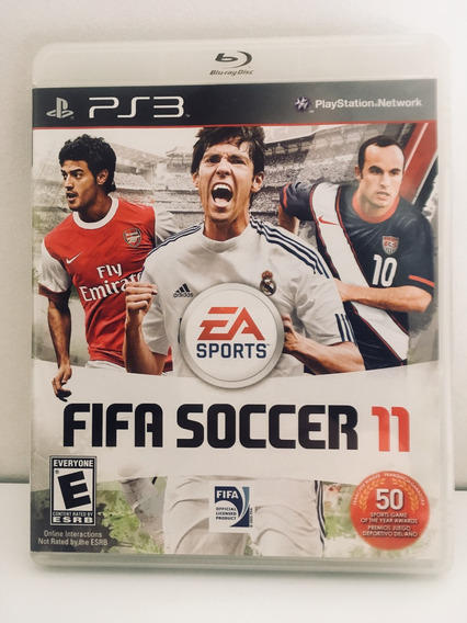 Fifa Soccer 11 Jogo Ps3 Sports Original