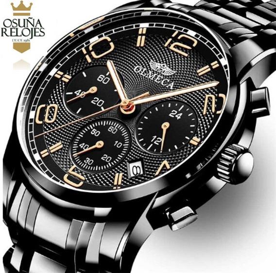 Relógio Masculino Olmeca Blindado Anti Risco Original