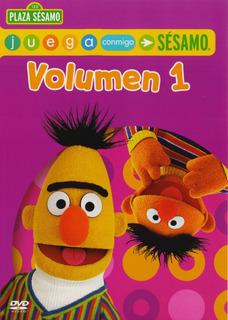 Plaza Sesamo Juega Conmigo Volumen 1 Uno Dvd