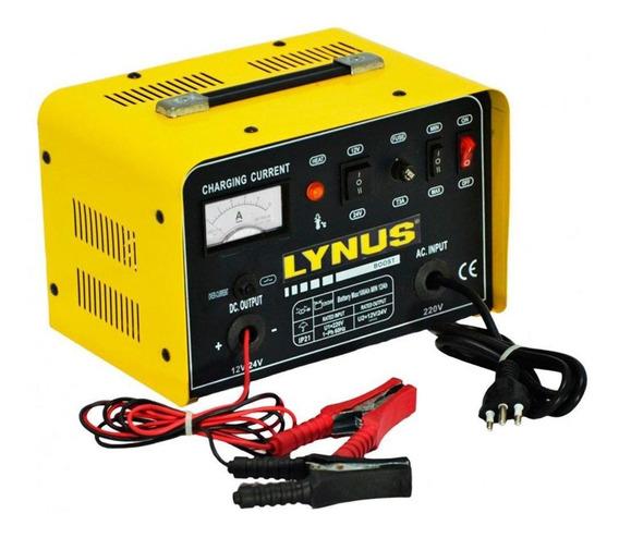 Carregador De Baterias Portátil 100a 12/24v 220v Lynus Lcb10