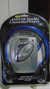 Walkman (rádio Am-fm+fita K-7) *tozaj Atc-1011.novo!lacrado!
