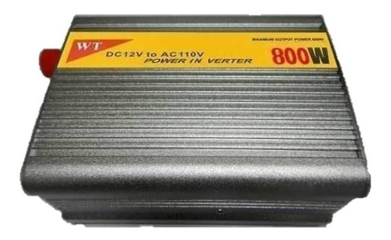 Inversor Transformador Conversor 800w Veicular 12v 110v 220v
